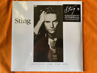 STING ... Nothing Like The Sun Vinyl LP Album New & Sealed .slight sleeve crease