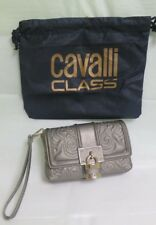"Class Roberto Cavalli ""Lace Diva"" Bronze Small Sholder Wriestlet Strap Bag NEW"