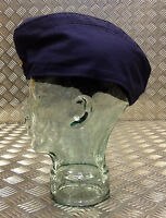Genuine East German Army/Navy Flat Cap / Envelope/Forage Hat. Blue - All Sizes