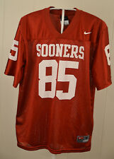 Nike Oklahoma Sooners Jersey #85 College Football Youth Medium 12/14 Red