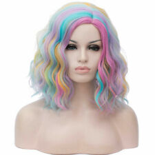 Sexy Short Curly Fancy Dress Wigs Cosplay Costume Ladies Full Wig Party