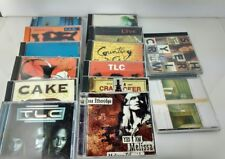 Lot of 14 CDs 1990s Hits Music Counting Crows, Ethridge, Crow, Cracker, Cake TLC