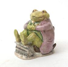 Beswick Beatrix Potter Figurine - Mr. Jackson Green Toad BP-3a