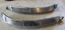 1957 58 59 Chrysler Imperial Outer Eyebrow Moldings Very Nice