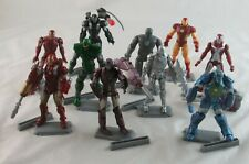 Marvel Universe Iron Man Movie Loose Various Action Figure Lot of 10