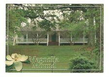 Magnolia Mound Baton Rouge Louisiana Unused 4x6 Postcard Art MD36