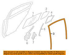 SUBARU OEM 12-15 Impreza Window Glass-Rear Door-Run Channel Left 63527FJ050