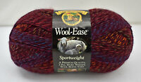 Lion Brand Wool-Ease Sportweight Yarn - 1 Skein Strawberry Twist #195