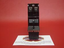"""Copper Terminal Federal Pacific Nc230 30 Amp 2 Pole 1"""" Thin Breaker - Chipped"""