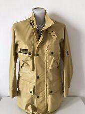 giacca donna giubbino Belstaff XL500 oro tag.42 moto jacket vintage rare G70
