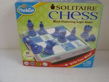 ThinkFun #3400 Solitaire Chess Puzzle Kids Game Fun Challenging Brain Teaser