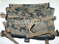 Made in USA marpat ILBE Rucksack Pack USMC Radio Utility Pouch GEN I Black Trim