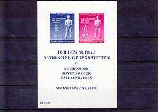 DDR Block 11, postfrisch,  Tag der Befreiung, , preisgünstig, siehe Scan