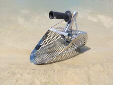 Arena de Playa Pala Detector De Metales Mango De Acero Inoxidable 1,5mm +