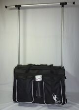 AMD Pack ' N ' Hang, Pull Along Bag with Hanging Rack perfect for Dance and Gym