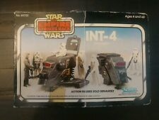 Star wars int-4 Mini Rig Unused Stickers boxed wave 2, 1st release.