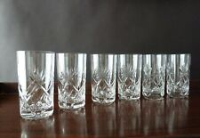 6 Crystal GT, Water Glasses, h12 cm, Flawless
