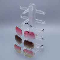 5 Layers Glasses Eyeglasses Display Rack Sunglasses Show Stand Holder Frame