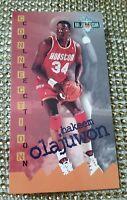 1995-96 Fleer NBA Jam Session Hakeem Olajuwon #41 HOF