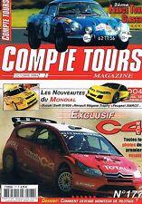 Compte Tours Magazine   N°177   Octobre 2004 : C4 WRC