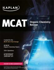 Kaplan MCAT Organic Chemistry Review: Created for MCAT 2015 (Kaplan Test Prep),