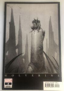 RETURN OF WOLVERINE #2 BY MOEBIUS 1:1000  MARVEL SKETCH VARIANT EDITION