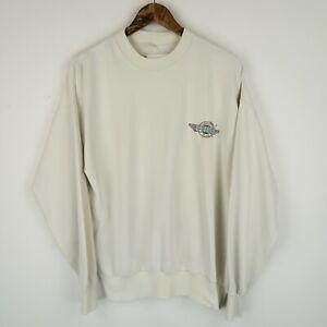 PUMA Vintage 80's Sweatshirt Retro Embroidered Logo SZ Medium ( G775)