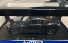 1/18 AUTOart TOYOTA GT86 Gray Metallic Limited RHD 78772