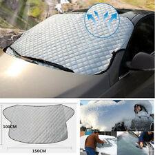Universal Car Auto SUV Front Windshield Snow Cover Frost Sun Shade Protector New