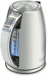 Cuisinart CPK-17 PerfecTemp 1.7-Liter Stainless Steel Cordless Electric kettle,