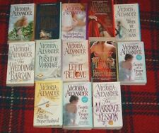 Lot-12 VICTORIA ALEXANDER The Marriage Lesson+WEDDING BARGAIN+Perfect Mistress+9