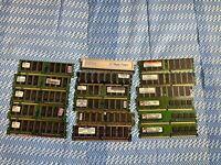 Lot eSCRAP Misc. DDR RAM Memory 1G 512 256 FOR SCRAP.84 lbs
