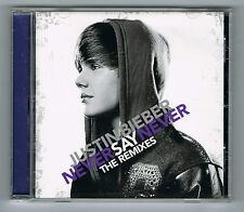 JUSTIN BIEBER - NEVER SAY NEVER - THE REMIXES - CD OCCASION COMME NEUF