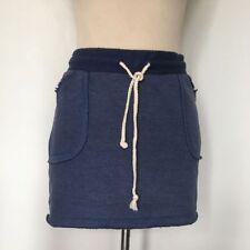 Zara Cotton Blend Short/Mini Casual Skirts for Women