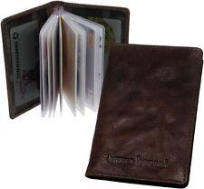 Bruno Banani Vintage-Brown Ec Card Holder, Credit Case, Case New