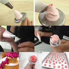Rose Flower Icing Cream Stand Nail Bake Pastry DIY Cake Cupcake Decorating Tool