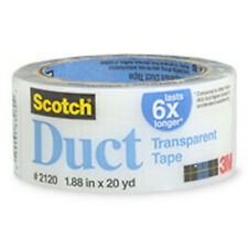 Scotch Transparent Duct Tape 1.88 in x 20 yds