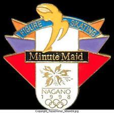 OLYMPIC PINS 1998 NAGANO JAPAN MINUTE MAID COKE SPONSOR