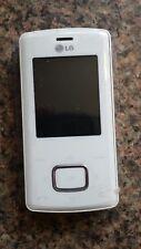 LG KG 800 - Smartphone - White (UNLOCKED)
