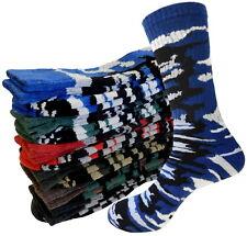 ARMY CAMOUFLAGE socks size 10-13  Cotton Full Cushion Premium Quality ROYAL BLUE