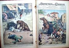59) 1931 BERGAMASCO E INCIDENTE A FIERA DI LUBIANA DOMENICA DEL CORRIERE