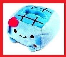 JAPANESE HANNARI TOFU PLUSH MOBILE PHONE STAND *(Blue)