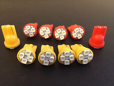 10 For Suzuki Amber Red LED Oil Door Ajar Check Engine Dash Light Bulb 194 NOS