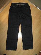 DKNY Wm's Jeans - Donna Karan New York Womens Dark Blue Denim Jeans 5 Short