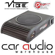 Vibe optisound AUTO 8 900 WATT ATTIVO SLIM AUTO FURGONE SOTTO SEDILE SUBWOOFER SUB