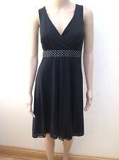 Nylon V-Neck Petite Dresses for Women