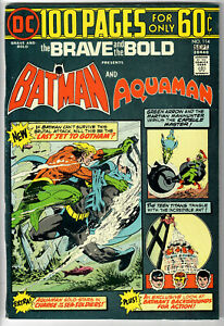 DC Comics The BRAVE and the BOLD # 114, Sept. 1974 (VF+)! OVERSTREET $40.00