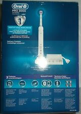 NEW Oral-B Pro-3000 3D White Rechargeable Toothbrush (Open-Box)