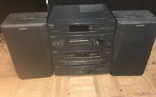 Sony LBT-D108  Compact Hi Fidelity Stereo Dual Cassette Receiver Radio & Disc CD