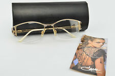 Cazal Glasses Mod. 160 Col. 989 Half-Rim Deluxe Eye Frame Lunettes Gold + Case